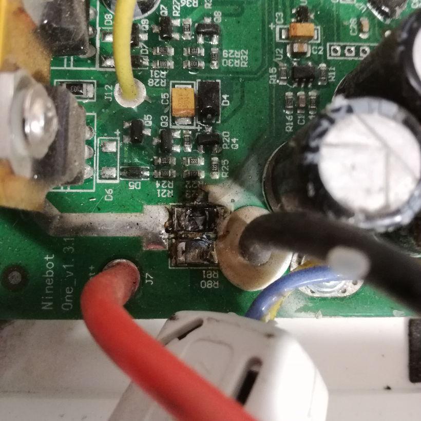 Ninebot E+ Control Board Burnout - Ninebot - Electric