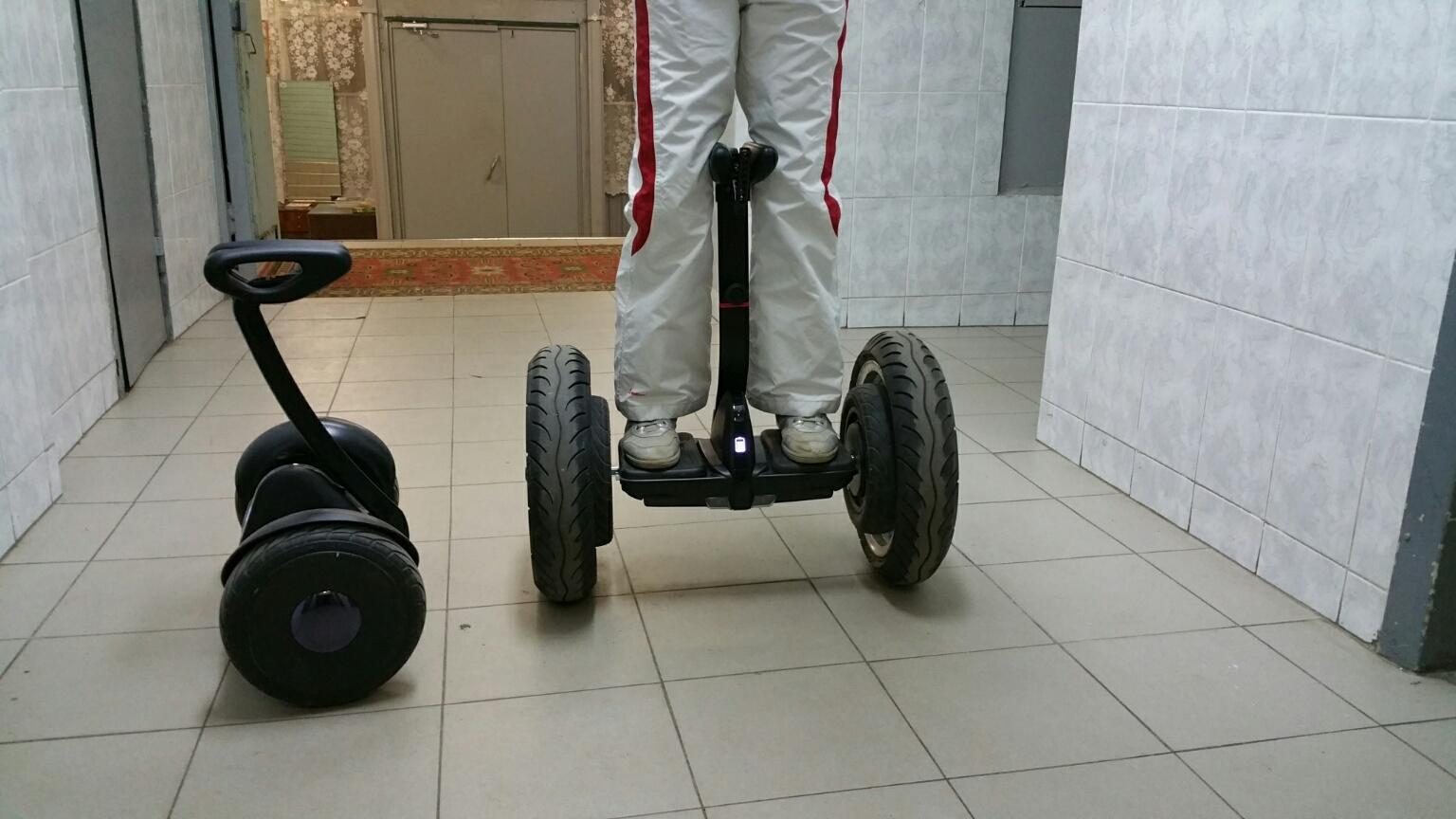 Bigger wheels = bigger SPEED (MINI PLUS) - Ninebot Mini