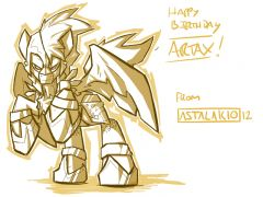 Artax Birthday Sketch