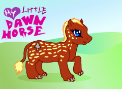 My Little Dawn Horse, My Little Dawn Horse