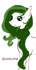 Tried to draw a Pony with the mouse