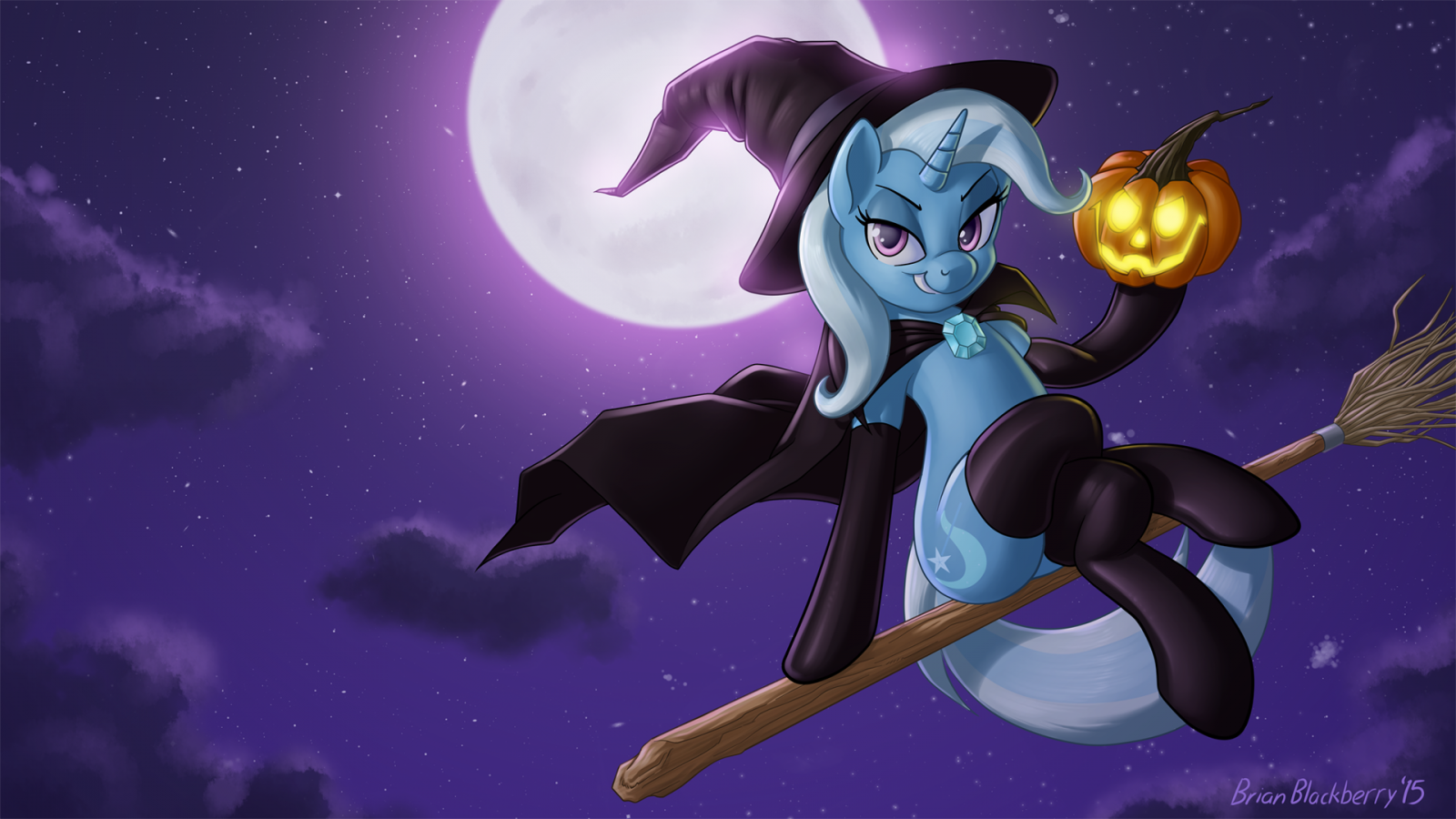 Nightmare Night with the Great and Powerful Trixie!