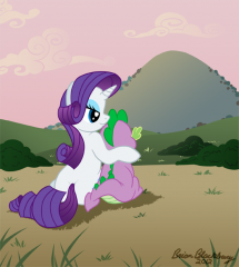 Rarity-Spike Banner Slice