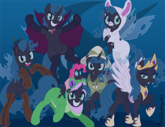 2013 Halloween Mane Cast as Changeling