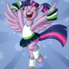 Twilight Sparkle Is Ready For The Superbowl!