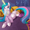 Holiday Pic for Canterlot Friends - Princess Sunbutt