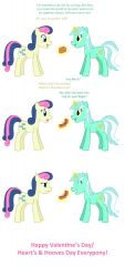 Lyra & Bon Bon Hearts and Hooves Day Comic