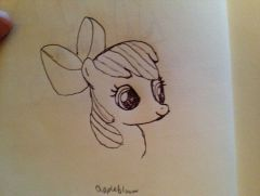 Applebloom speed sketch