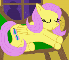 Fluttershy Sleep 2