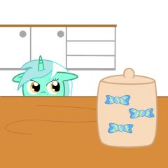 Lyra and the cookie jar