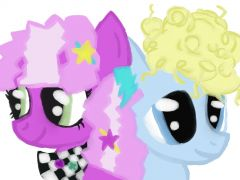 Cheerilee and Blue Octave