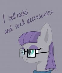 I sell rocks and rock accessories.
