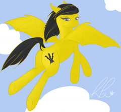 Flying Batponies