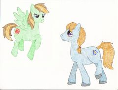 Me and Brian, ponified