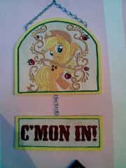 Apple Jack baby door  plaque