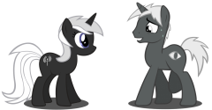 "Shadowtred says ""Hi"" to somepony special..."