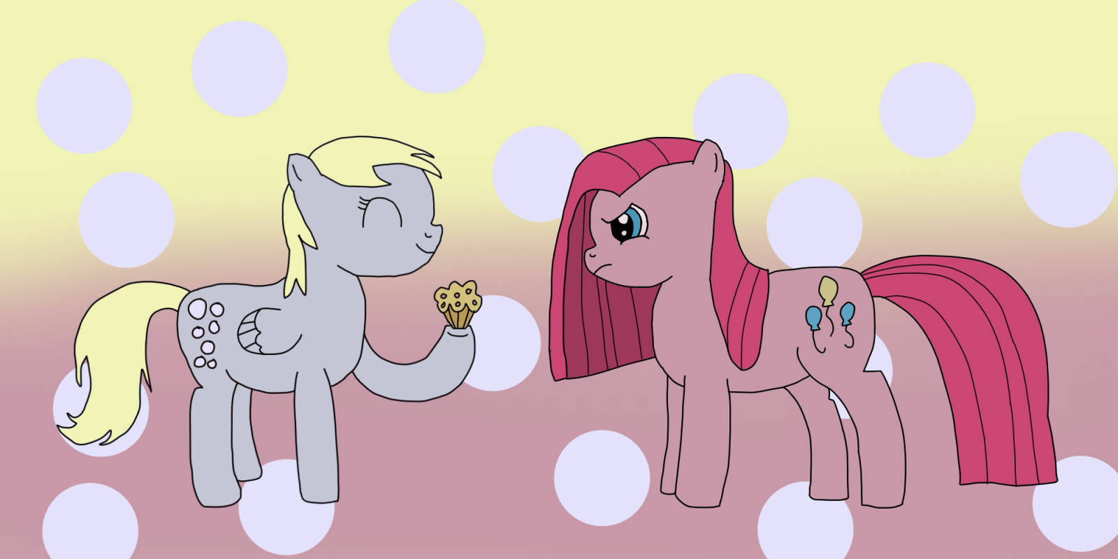 Derpy And Pinkamena