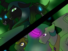 Celestia and Changelings