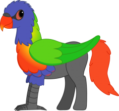 Aileron the hippogriff