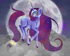 Galaxy pony adopt I haz made