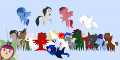 Canterlot Group Photo!