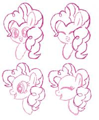Pinkie Pie sketches