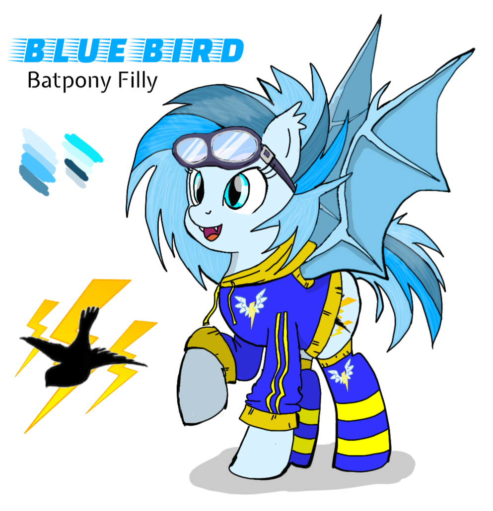 Blue Bird Character Sheet