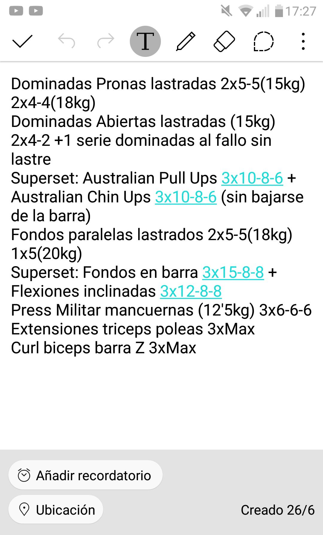 Diario de entrenamiento - Página 8 - Diarios de entrenamiento - Foro ...