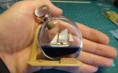 Yacht Spray of Captain Slocum by IgorSky - BOTTLE - 1/350