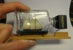 Schooner AMERICA by IgorSky - BOTTLE - scale ̴ 1/800