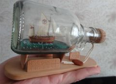 Lifeboat RS1 Colin Archer - BOTTLE - scale 1/230