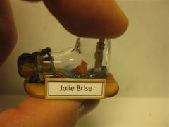 Mini SIB - Jolie Brise and Fastnet Rock. 1/3000 Scale :)