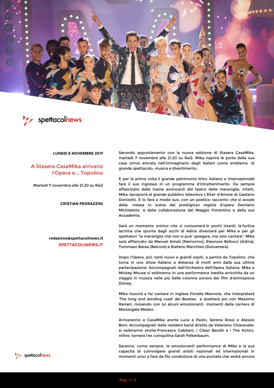 Casamika 2 2017 Page 11 Mika News And Press Mika Fan