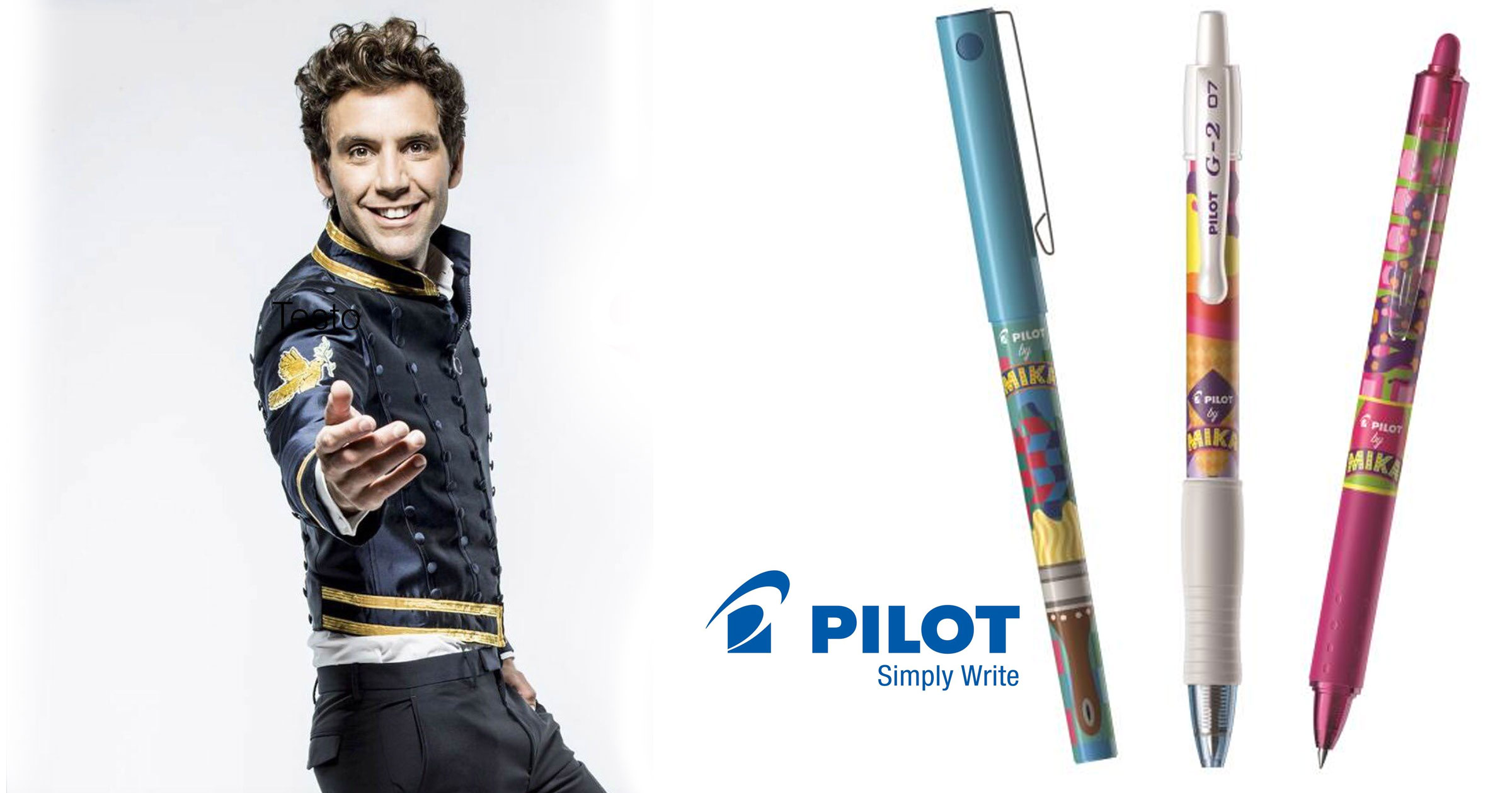 Mika's collaboration with Pilot!