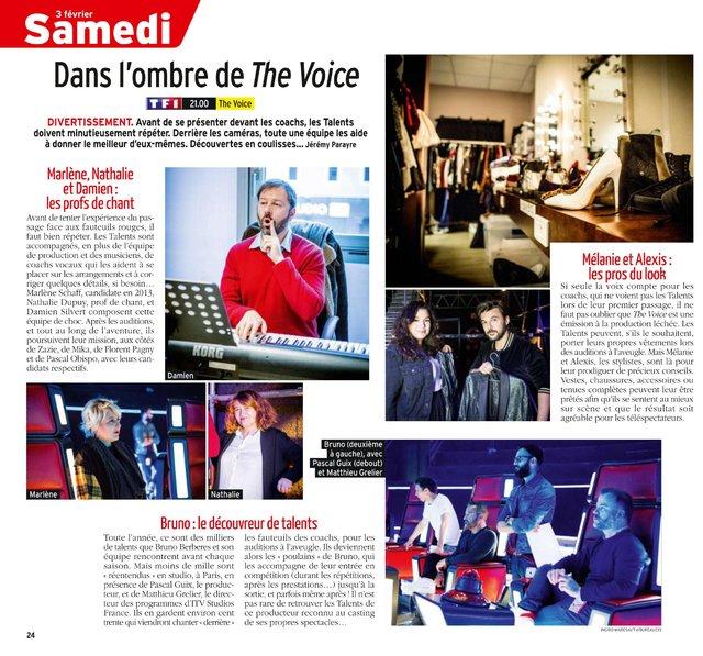 équipe the voice