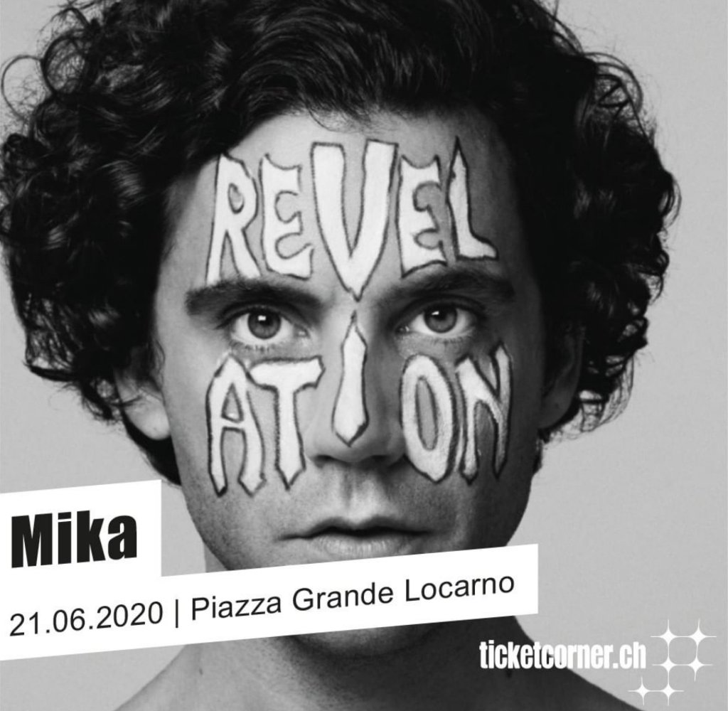 MIKA to Perform in Locarno, Switzerland, This June!