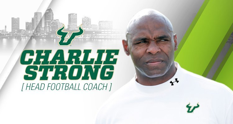 Charlie Strong to go on First Take