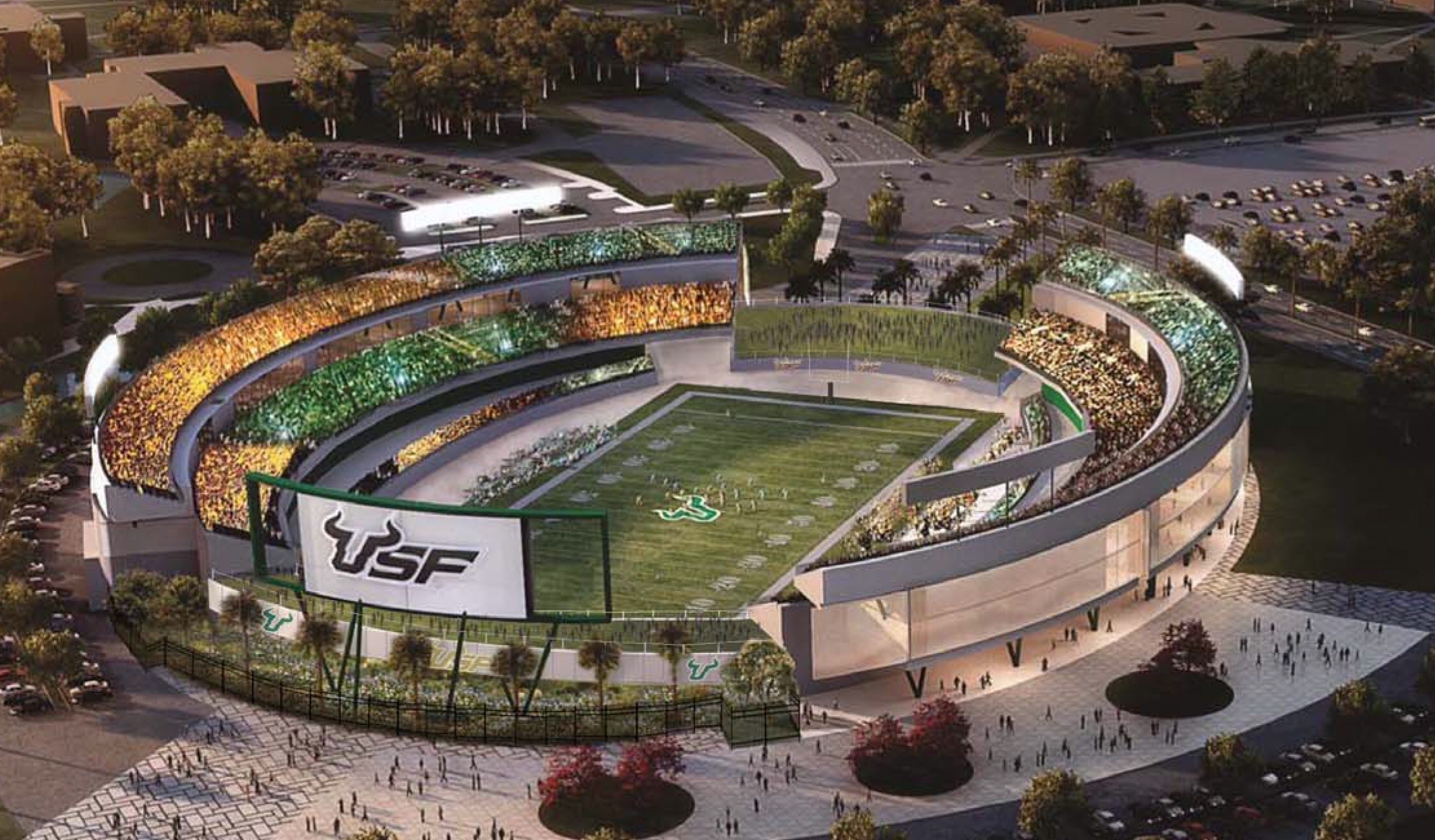 USF to present findings of on-campus stadium study