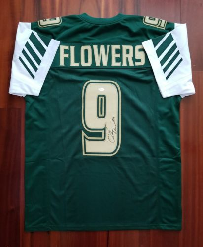 Quinton Flowers Custom Jersey, Signed