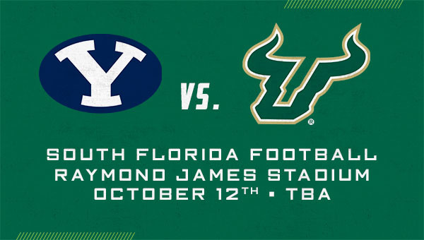 Four Tickets to USF Bulls Football vs. BYU
