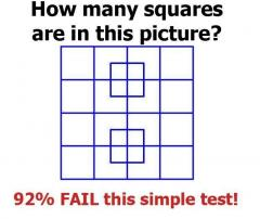 how many squares are in this picture