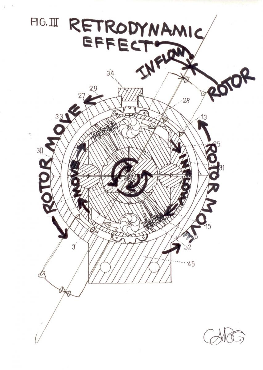 State of the Art Novel InFlowTech; 1-Gearturbine RotaryTurbo, 2-Imploturbocompressor One Compression Step