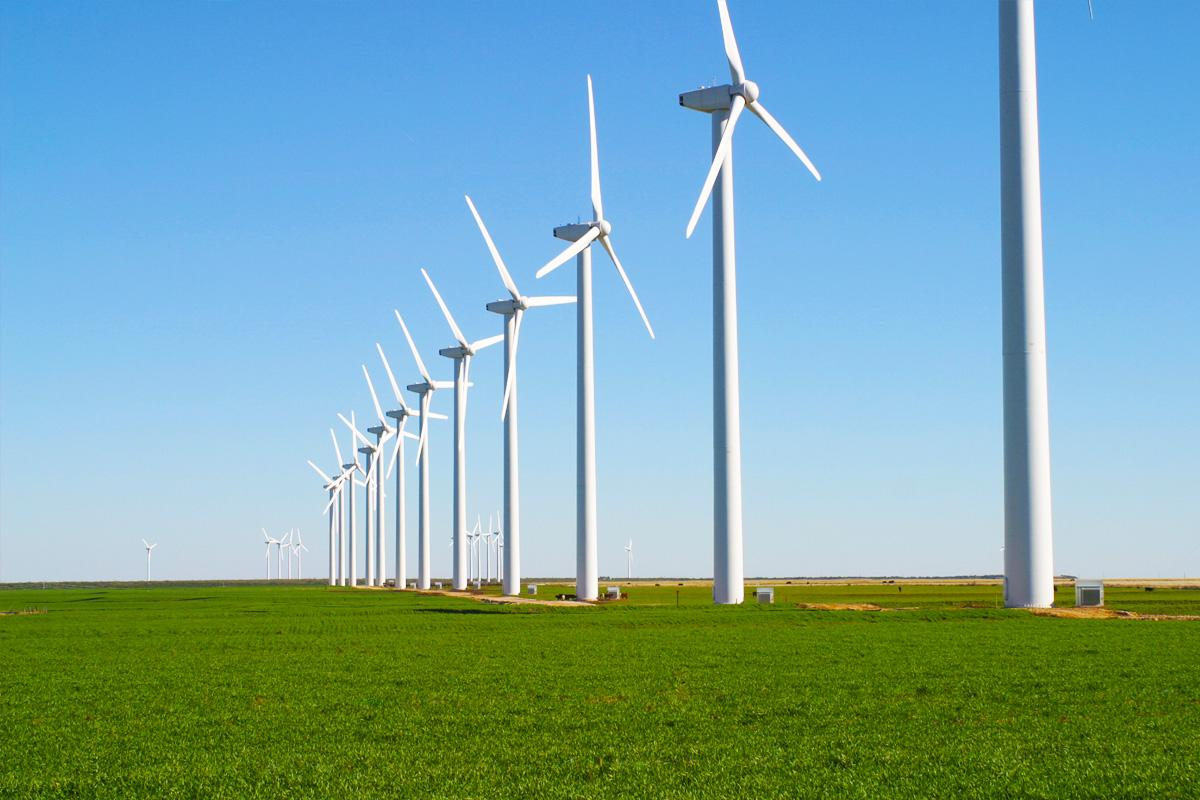 Why do wind turbines have such thin blades?