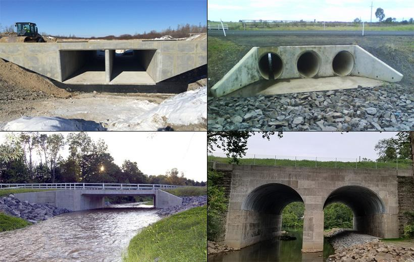 WHAT ARE THE TYPES OF CULVERTS