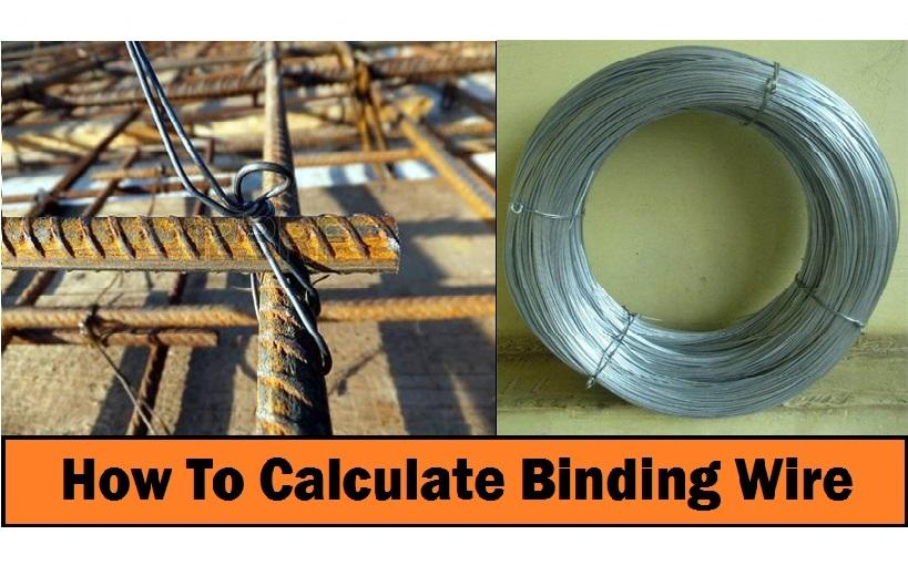 HOW TO CALCULATE QUANTITY OF BINDING WIRES FOR STEEL BARS
