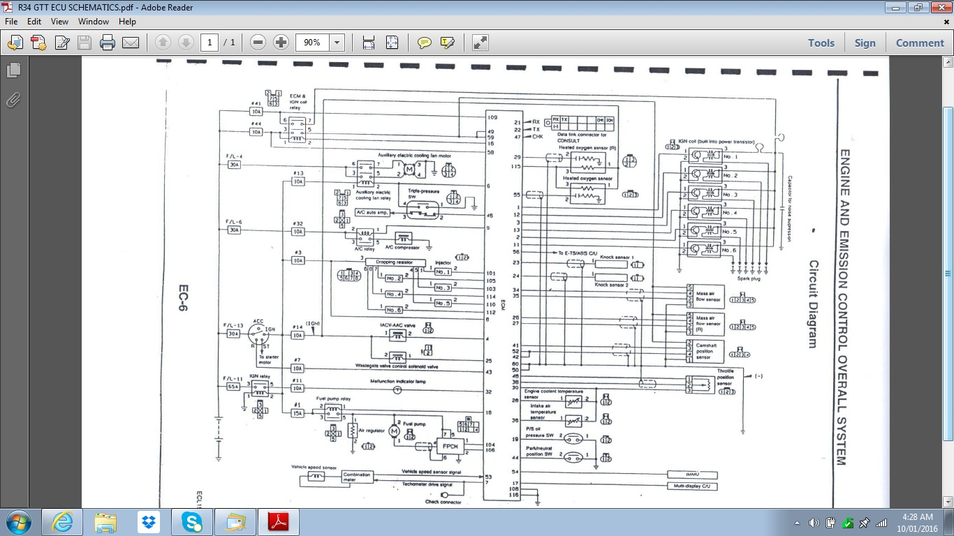 R34_GTT_ECU_SCHEMATICS.4326506b9361e8132ed562dffb63410b rb25det neo ecu pinout g4 link engine management link g3 wiring diagram at bayanpartner.co