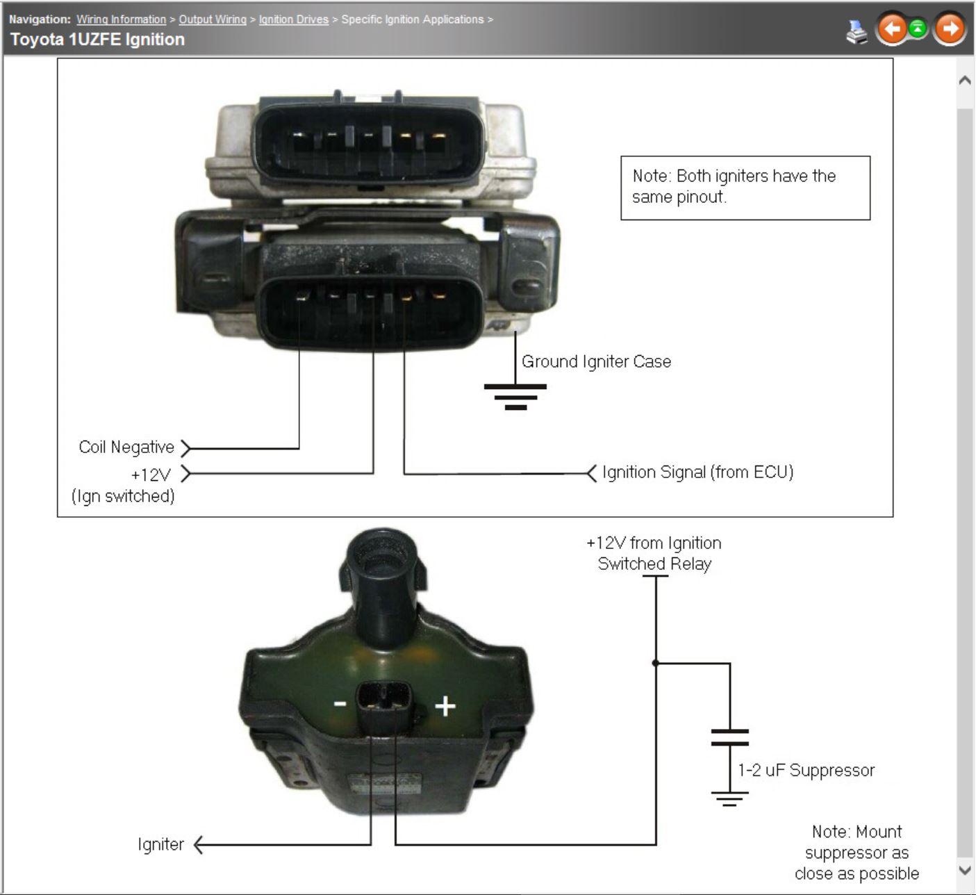 Lexus 1uzfe Help Link G4 Link Engine Management