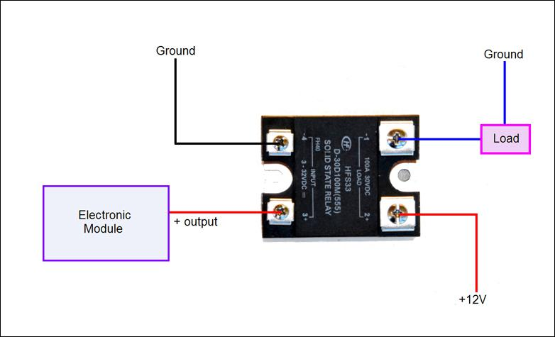 wiring solid state relay wiring diagram db Solid State Relay Switch