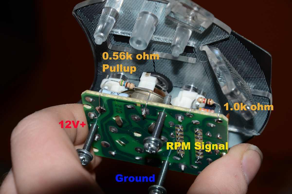St205 With Cop Conversion Rev Counter G4 Link Engine Management Msd Tach Adapter Wiring Porsche Tachomod