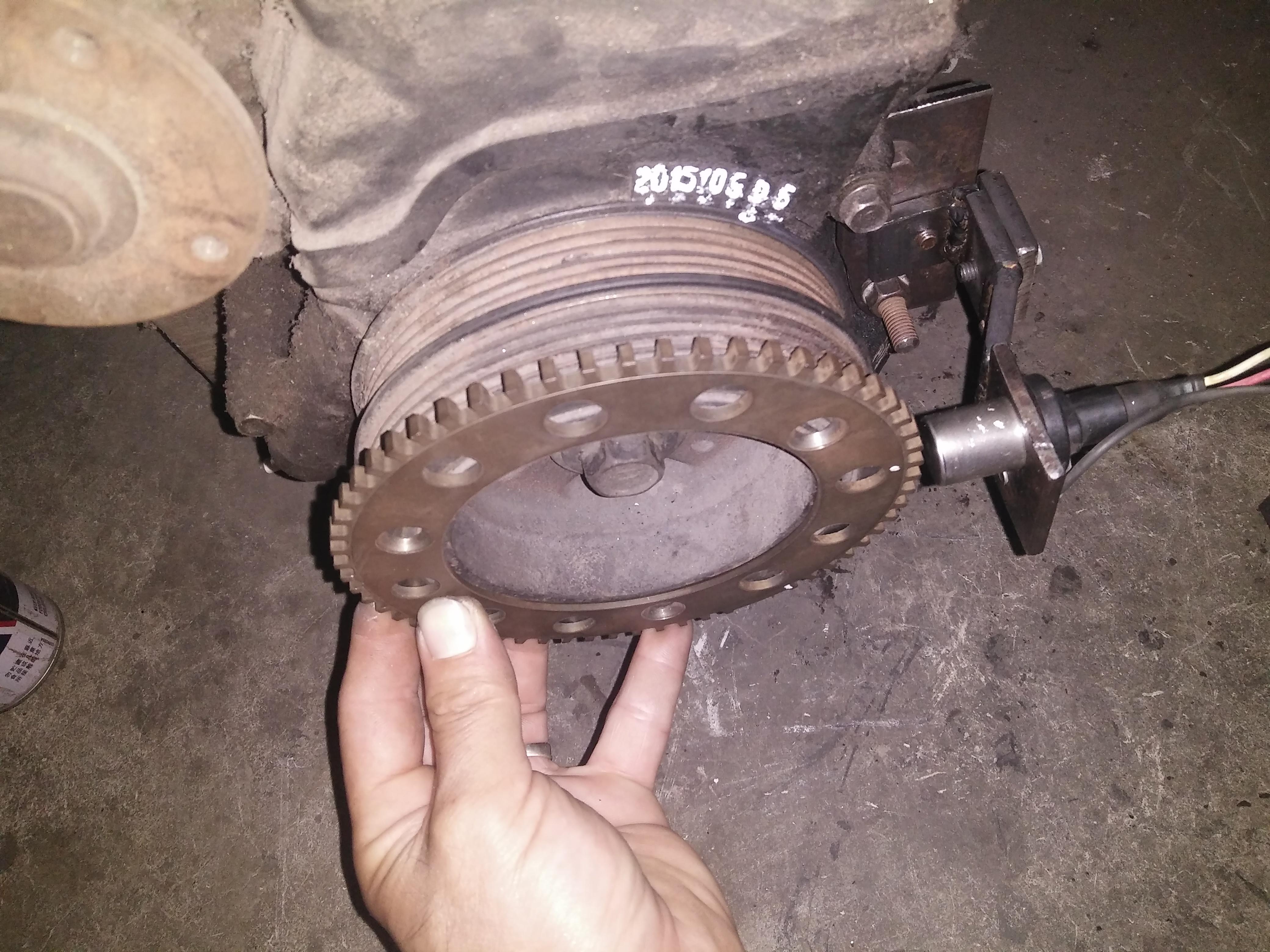 Toyota 20v   Trigger wheel position pls help !!!! - G4+